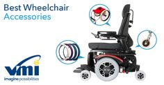 Wheelchair accessories and upgrades | VMI    We scoured the web and found seven wheelchair accessories and upgrades that can improve your adventures.