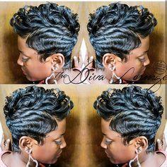 IG: @thedivaloungehairsalon,  Hairstylist