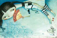 """Glenda Sburelin, """"Alice in Wonderland""""."""