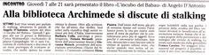 Articolo di stampa