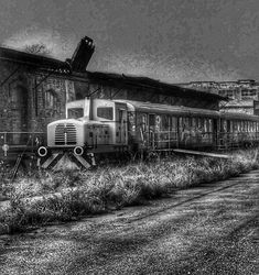 The Wave, Santa Maria, Mystery, Train, Black And White, Pictures, Photography, New Life, Kunst
