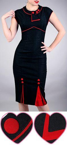 love the skirt details.