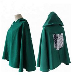 Attack on Titan Anime Shingeki no Kyojin Cosplay Costume Grade Top Cape Cloak - $25