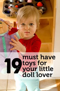 The 19 best Christmas gifts for any child who loves their doll/baby/ect. :).