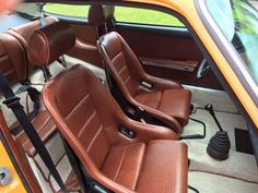 Let's see your custom interior! - Page 9 - Pelican Parts Forums Jetta Mk1, Vw Mk1, Volkswagen Karmann Ghia, Kombi Interior, Custom Car Interior, Interior Ideas, Porsche 550, Porsche Cars, Singer Porsche
