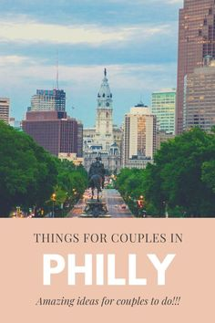 Planning a weekend trip to Philly with that special someone? Looking for the perfect date idea in Philadelphia? Check out these amazing things to do in the city of Brotherly Love. #datenight #fundateideas #couplesgetaway