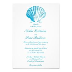 Discount DealsOcean Blue Sea Shells Wedding Invitationtoday price drop and special promotion. Get The best buy