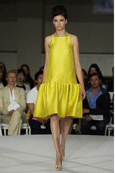 Oscar de la Renta Resort 2008 Fashion Show - Jacquetta Wheeler