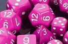 CHESSEX OPAQUE POLYHEDRAL DICE SETS - This page looks mostly updated, except: Purple with red and darker grey with copper does not appear to be available anymore. Listed without pics: Dusty Green, Dusty Blue with copper. I will pin pics of both. Pin Pics, Dusty Blue, Nail Polish, Dice, Purple, Nails, Red, Copper, Finger Nails