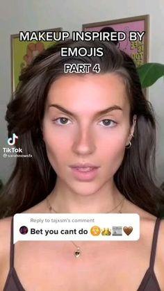 Face Paint Makeup, Eye Makeup Art, Sfx Makeup, Cute Makeup Looks, Creative Makeup Looks, Pretty Makeup, Edgy Makeup, Crazy Makeup, Makeup Emoji