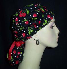 Sweet Cherry's So Cute Pony Tail Scrub Hat