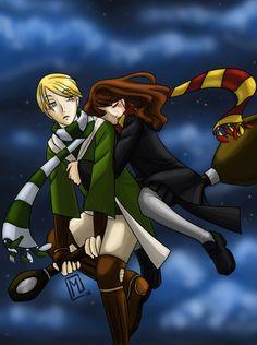 HP: Midnight Flight by draco-hermione-club