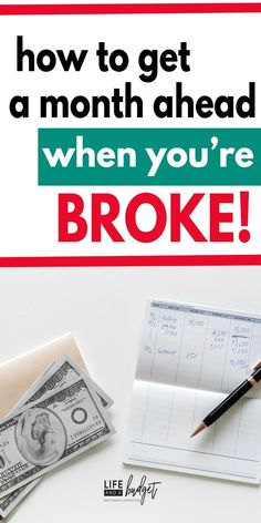How to Live on a Very Tight Budget If you're broke, living paycheck to paycheck, and can't catch up on your bills, this is a must read! You will learn exactly how you can get a month ahead of your bills so you can stop struggling and start thriving. Budgeting Finances, Budgeting Tips, Budgeting System, Ways To Save Money, Money Saving Tips, Money Tips, Money Plan, Mon Budget, Planning Budget