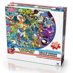 Pokemon Pikachu Cicle of Pokemon Lenticular Puzzle