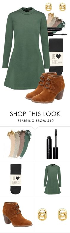 """""""verdure"""" by deliag ❤ liked on Polyvore featuring Gucci, Bobbi Brown Cosmetics, Oasis, Être Cécile, Clarks and Monet"""