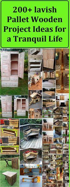 pallet wood 200 plus ideas