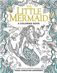 Little Mermaid: A Coloring Book - Silver Dolphin