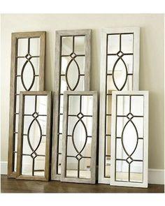 Garden District Leaner Mirror - Ballard Designs WM889 WHT