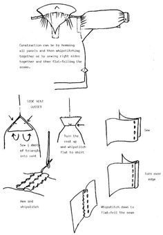 c shirt sewing techniques 18th Century Clothing, 18th Century Fashion, Renaissance Costume, Medieval Costume, Historical Costume, Historical Clothing, Clothing Patterns, Sewing Patterns, 18th Century Costume