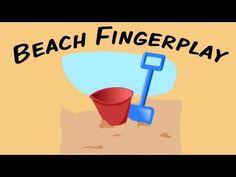 VIDEO: Beach Fingerplay | fingerplay song for children