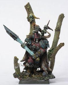#warhammer - an amazing Krell - just oozing menace!