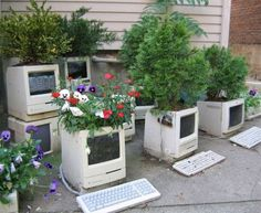 Old Apple computers...
