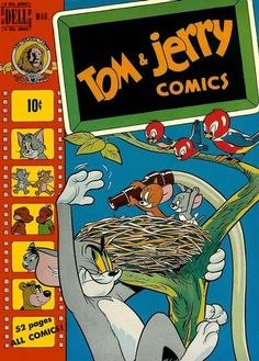 Cover for Tom & Jerry Comics (Dell, 1949 series) #68