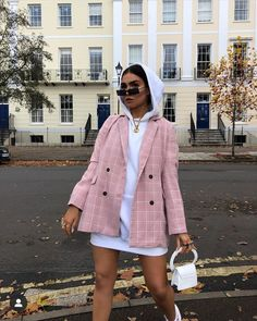 fashion, style e outfit immagine su We Heart It Zalando Style, Classy Outfits, Trendy Outfits, Fall Outfits, Christmas Outfits, Blazer Outfits Casual, Outfit With Blazer, Beach Outfits, Feminine Fashion