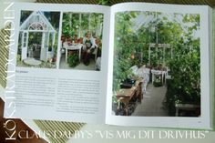 """Vis mig dit drivhus av Claus Dalby -"""" """"Show me you greenhouse"""" is the titel of  Claus Dalby's book. My greenhouse is in it :-)"""