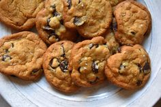Dark chocolate fleur de sel chocolate chip cookies. They are to die for.