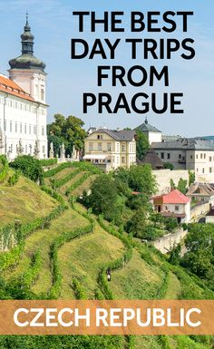 Prague is a beautiful city - and a great place to use a base to explore the Czech Republic. Here are the best day trips from Prague for when you're travelling in the Czech Republic.