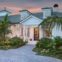 Rjs Builders This Home Has Been Painted In Restoration Hardware Colors The Body Mediterranean Key West Stylecoastal