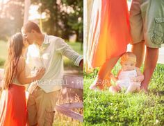 Family posing, Hayley Stell Photography