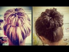 braided sock bun -!how to