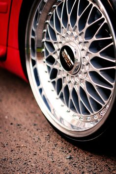 BBS RS So what do you guys think? #Rvinyl loves these #Rims but they would look even better with #WheelBands.
