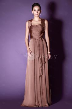 Chiffon floor length sweetheart draped dress - not sure what colour to order in...