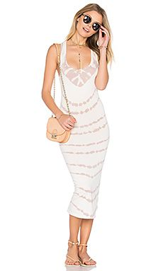Shop for Young, Fabulous & Broke Denny Dress in Mushroom Stripe Wash at REVOLVE. Vacation Wardrobe, Young Fabulous And Broke, Signature Look, Cotton Dresses, Day Dresses, Fashion Dresses, White Dress, Bodycon Dress, Feminine