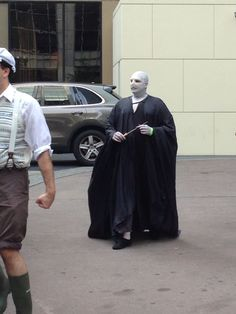 Voldemort cosplay at Dragoncon
