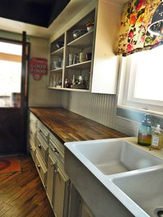 The Honey Do List: Refinish Butcherblock Countertops