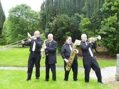 Ireland Wedding, James Brown, Trombone, Park Hotel, I Feel Good, Trumpet, The Beatles, Jazz, Wedding Venues