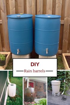 Thinking about building your own rain barrel to save on your water bill? Good idea. DIY rain barrels have become an extremely popular way to collect rainwater to keep your garden watered for free. ...
