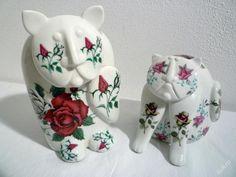 kočky Royal Dux, design Pravoslav Rada