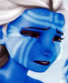 Elsa as a Jotun. >>> Y R U PEOPLE STEALING MY FANFIC IDEA?? >>> ALSO Y R U BREAKING MY HEART