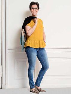 Makeover: Du skal ikke skjule dig i stort tøj