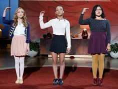 """Belissa Escobedo, Rhiannon McGavin, and Zariya Allen recited a jaw-dropping poem called """"Somewhere in America"""" on the since-canceledThe Queen Latifah Show. The young women, part of the LA-based nonprofit Get Lit, called to attention the information passed along unintentionally in this country's"""