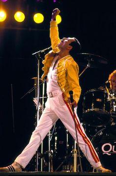 Queen's Freddie Mercury. Legendary Man.