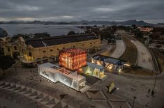 GTM Cenografia Uses Shipping Containers in Rio Olympic Pop-up Store for Nike