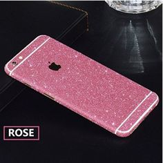 Iphone 6 plus Rose Glitter Skin Cover  Brand new • No trades Accessories Phone Cases