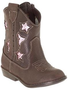 Party Boots for my Lil' Cowgirl  $32 Mia Kids Lil Lyla (Infant/Toddler) | Piperlime