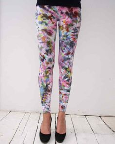 These gorgeous leggings come from artist and designer Shabd Simon-Alexander.